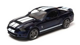 1/18 2010 Shelby GT500 (Blue w White)