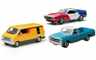 1/64 1970's AMC/Chev/Dodge Trio