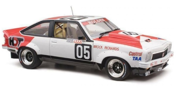 1979 Torana A9X Peter Brock & Jim Richards - Bathurst