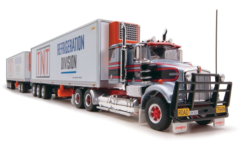 1/64 TNT Kenworth Refrigerated Road Train